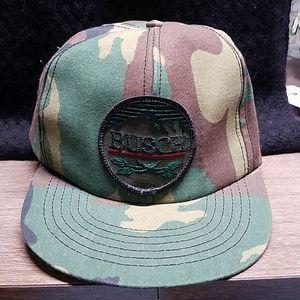 Busch Camoflauge adjustable hat made in Missouri